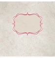 Vintage polka dot card And also includes EPS 8 vector image
