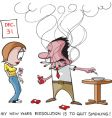 Funny cartoons vector image