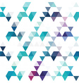 Pattern of geometric shapes Colorful mosaic vector image