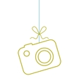 summer hanging concept isolated icon vector image