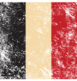 Belgium retro flag vector image