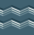 color zigzag lines seamless pattern vector image
