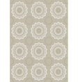 Light beige background with openwork circles vector image