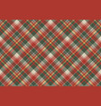 pixel fabric texture classic plaid seamless vector image