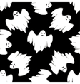 Halloween seamless background pattern vector image vector image