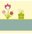 flower illustration vector image vector image