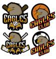 Sets professional logo sport vector image