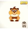 Cartoon Meerkat Character vector image