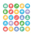 Education Bold Icons 2 vector image