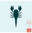 Scorpion icon isolated vector image