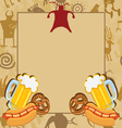Bachelor party invitation vector image