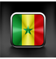 original and simple Senegal flag isolated vector image