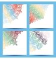 Set of Patterned Banner vector image