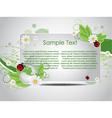 bio template vector image