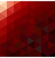 Abstract Red Geometrical Background vector image
