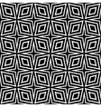 Seamless diamonds pattern vector image