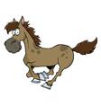 Horse Running vector image