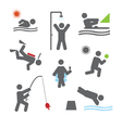 Relax icons vector image vector image