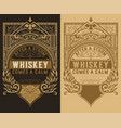 set of 2 labels vector image