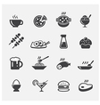 food icon vector image