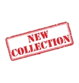 New collection rubber stamp vector image