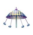 icon amusement park vector image vector image