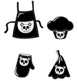 clothing cooking vector image