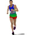 al 0232 running vector image