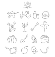 Professional collection of icons and elements A vector image