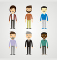 people - men vector image