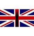 Union Flag Big Ben vector image