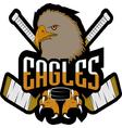 single professional logo sport vector image