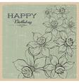 daffodils vector image