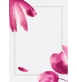 Background with watercolor flowers Can be use for vector image