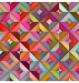 Seamless Multicolor Shades Gradient Rhombus vector image