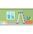 Background of home renovation vector image