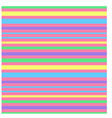 changing lines horizontal seamless pattern vector image