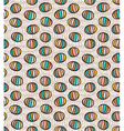 Seamless pattern with spheres vector image