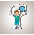 Personal alert design vector image