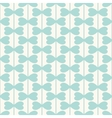 Geometric seamless pattern with hearts lines vector image vector image