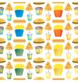fast food tile vector image