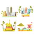 Miami 2x2 Design Concept vector image