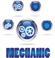 Mechanic resize vector image