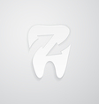 Icon protected around the tooth vector image