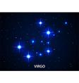 Set of Symbol Zodiac Virgo vector image