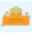 Business Process vector image vector image