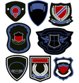 emblem badge icon set vector image