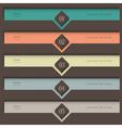 Creative colored Design template