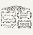 High Ornate Frames vector image vector image