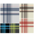 fabric plaid textile vector image vector image